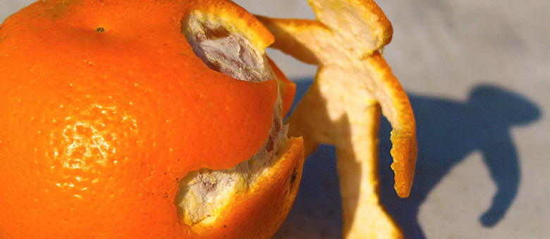 Pomarančová kôra je výživná a zdravá